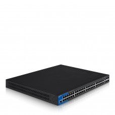 LinkSys-Switch-48P-GIGA-POE-MNG-2SFP-2 10G-L3-LGS552P