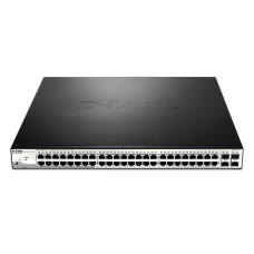 D-Link 52-Port Gigabit Web Smart PoE Switch (DGS-1210-52P)